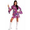 Adult Groovy Flower Power Women's Costume