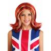 Womens British Girl Power Wig