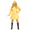 Yellow Raincoat Costume for Women