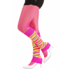 Striped Neon Leg Warmers