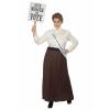 Plus Size English Suffragette Costume for Women