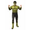 Avengers Endgame Deluxe Incredible Hulk Costume for Men