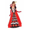 Plus Size Deluxe Queen of Hearts Costume for Women