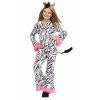 Zebra Diva Costume for Girls