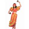 Latin Dancer Costume - Womens Tropical Island Dancer Costume
