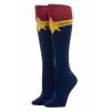 Captain Marvel Suit-Up Knee High Socks