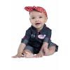 Newborn Rosie the Riveter Costume