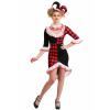 Haute Harlequin Women's Costume