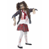 Zombie School Girl Costume for Kids