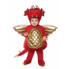 Cute Toddler Red Dragon Bubble Costume