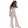 White Gangster Women's Costume