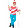 Where's Wally? Wally Costume for Boys