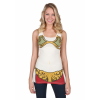 Womens I Am Bikini Leia Costume Tank