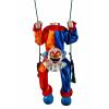 Animated Headless Clown on Swing Decoration