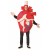 Adult Realistic Red Heart Costume
