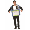 Funny Adult Floppy Disk Costume