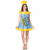 Jolly Rancher Womens Blue Raspberry Jolly Rancher Costume
