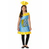Blue Raspberry Jolly Rancher Costume for Girls