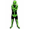 Kids Black Glow Skeleton Costume