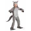 Grey Wolf Kid's Costume