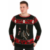 Freddy vs Jason Halloween Sweater for Adults