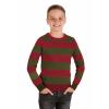 Nightmare on Elm Street Striped Freddy Krueger Sweater for Kids