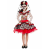 Sugar Skull Princess Girl's Costume