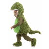 Cute Toddler Green T-Rex Bubble Costume
