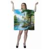 Adult Bob Ross Painting Dress Costume
