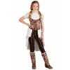 Girl's Steampunk Victorian Lady Costume