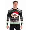 Gremlins Gizmo Claus Ugly Christmas Sweater for Adults