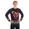 Gremlins Caroling Trio Ugly Christmas Sweater for Adults