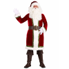 Plus Size Old Time Santa Claus Costume for Men