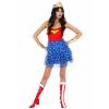 Wonder Woman Mini Skirt Dress