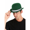 Green Derby Hat for Adults