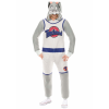 Space Jam Bugs Bunny Union Suit Costume for Adults