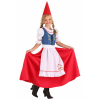 Garden Gnome Costume for Girls