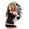 Turquoise Native American Headdress