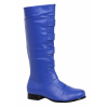 Adult Blue Superhero Boots