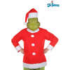 Adult Grinch Costume Top, Hat and Half Mask