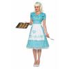 Women's Polka Dot Housewife Costume