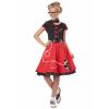 Girls Red 50s Sweetheart Costume
