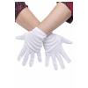 Plus Size White Gloves