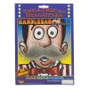Gray Handlebar Mustache