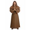 Plus Size Brown Monk Robe