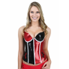 Harley Quinn Sequined Corset