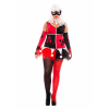 Women's Plus Size Harley Jester Costume