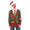 Men's Ugly Christmas Cardigan Shirt