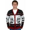 Star Wars Stormtrooper Men's Ugly Christmas Cardigan