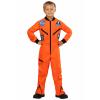 Orange Astronaut Jumpsuit Child Costume